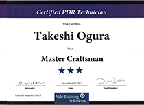 Vale Training Solutions社最高峰ランク【Master Craftsman】取得02