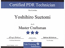 Vale Training Solutions社最高峰ランク【Master Craftsman】取得03