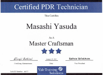 Vale Training Solutions社最高峰ランク【Master Craftsman】取得05