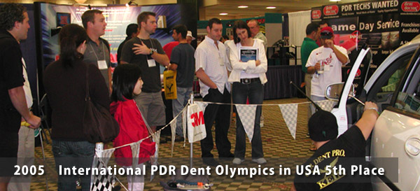 2005 International PDR Dent Olympics in USA 5th Place