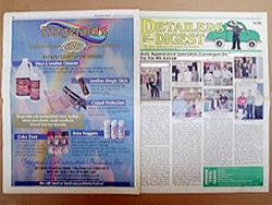 アメリカ最大の業界誌で、東洋人として初の世界大会出場・入賞の功績が掲載されました 増刊号表紙