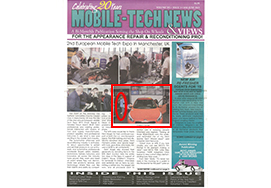 MOBILE-TECH NEWS & VIEWS MARCH-APRIL 2015 表紙