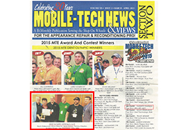 MOBILE-TECH NEWS & VIEWS MARCH-APRIL 2015 SECTION TWO 表紙