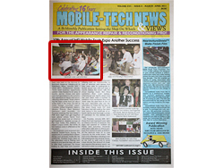 MOBILE-TECH NEWS & VIEWS MARCH-APRIL 2011 表紙
